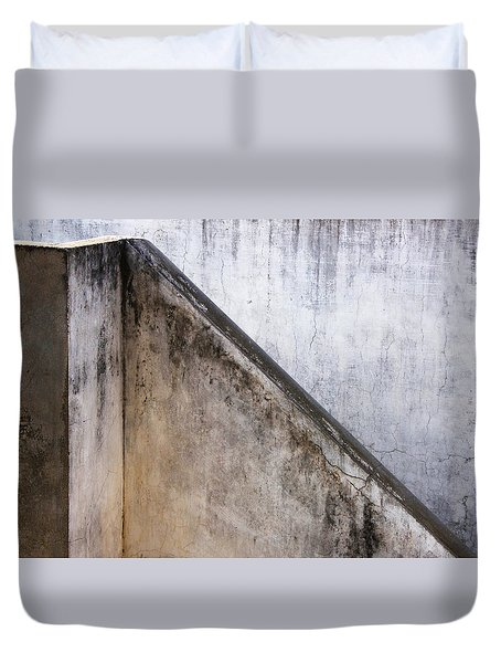 Duvet Cover featuring the photograph Slide Up by Prakash Ghai