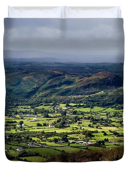 Slieve Gullion, Co. Armagh, Ireland Duvet Cover by The Irish Image Collection