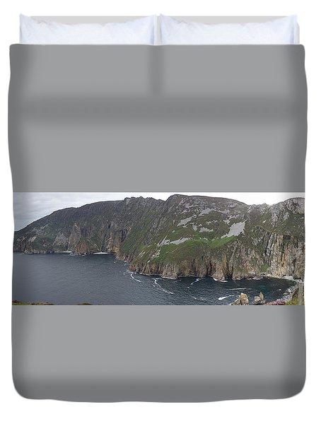 Slieve League Cliffs Duvet Cover