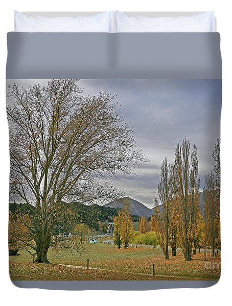 Slightly Surreal Landscape Duvet Cover