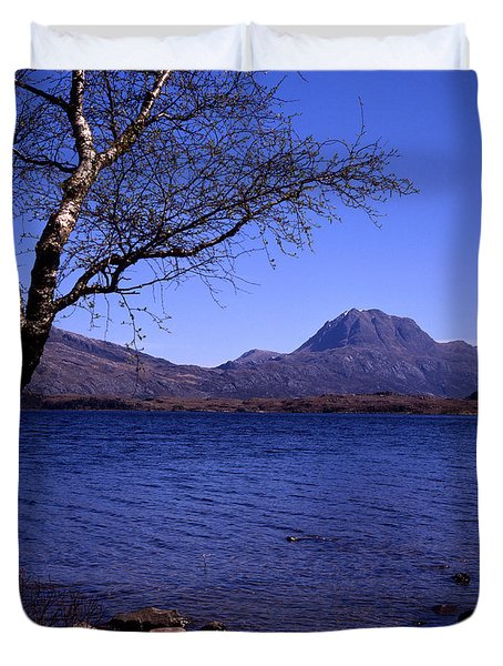 Slioch Loch Maree Wester Ross Scotland Duvet Cover