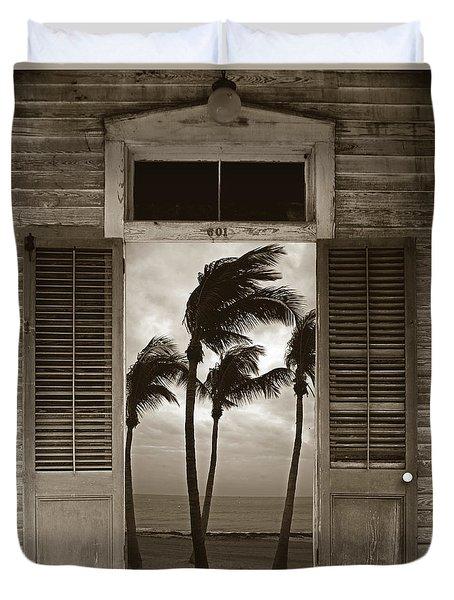 Slip Away To Paradise Duvet Cover by John Stephens