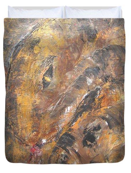 Slither Duvet Cover by Maria Watt