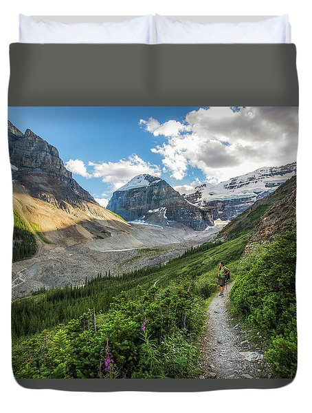 Sliver Of Light - Banff Duvet Cover