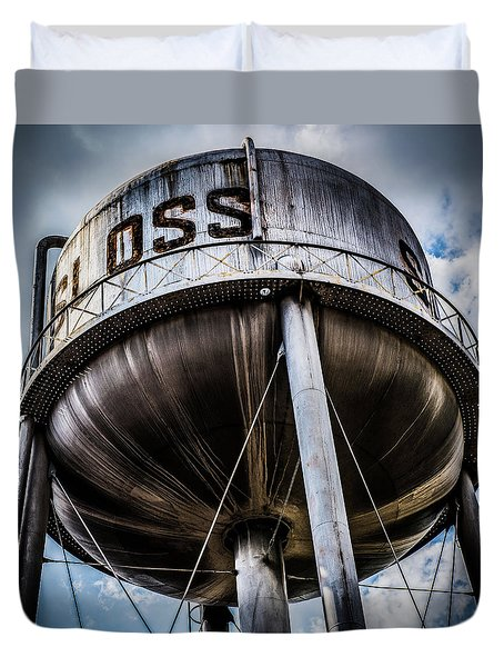 Sloss Tower Duvet Cover