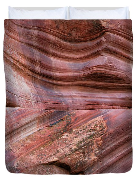 Slot Canyon Abstract - No 1 Duvet Cover