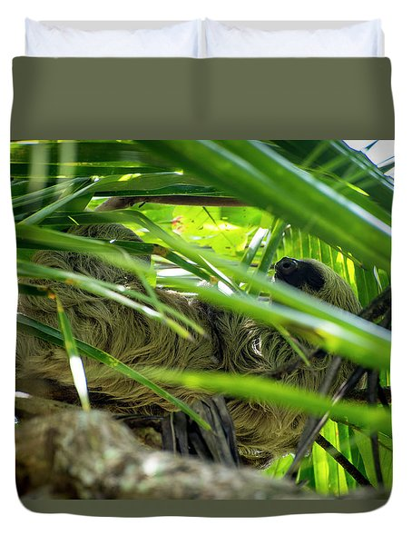 Sloth Life Duvet Cover