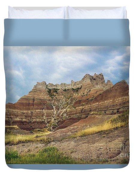 Slow Erosion Duvet Cover