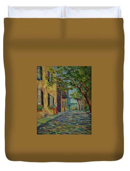 Farmer's Daughter  Duvet Cover