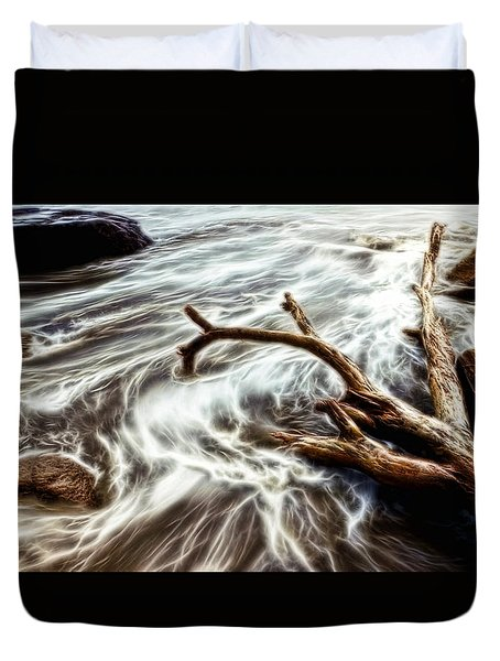 Slow Motion Sea Duvet Cover