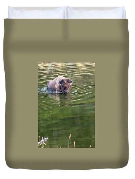 Slow Wadeing  Duvet Cover