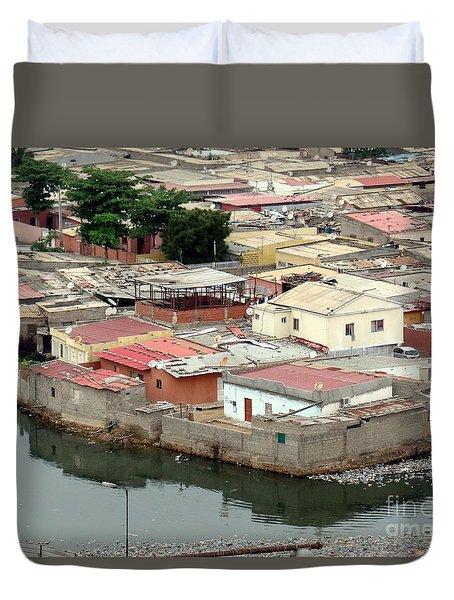 Slum In Luanda, Angola Duvet Cover