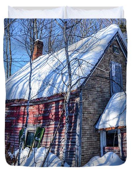 Small Abandon House Duvet Cover