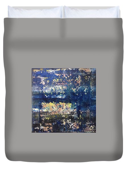 Small Blue Duvet Cover