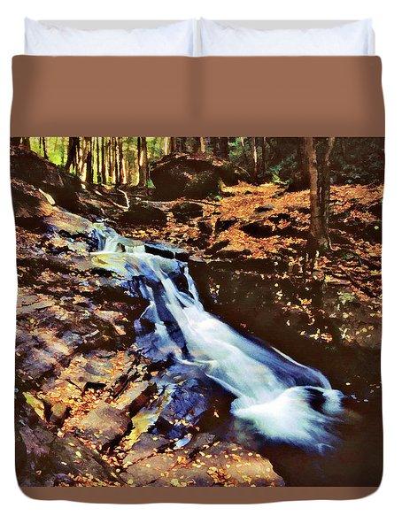 Small Falls 001 Duvet Cover by Scott McAllister