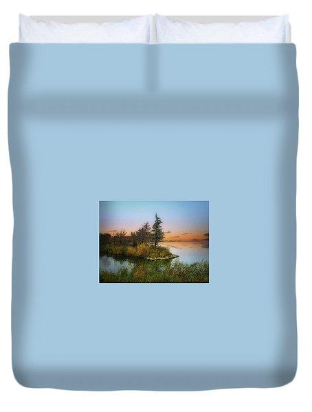 Small Island Duvet Cover