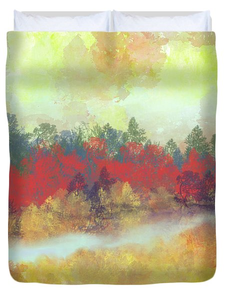Small Spring Duvet Cover by Jessica Wright