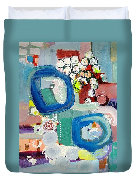Small Talk Duvet Cover