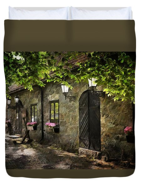 Small Town Idyll Duvet Cover