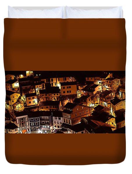 Small Village Duvet Cover