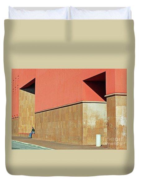 Duvet Cover featuring the photograph Small World by Joe Jake Pratt