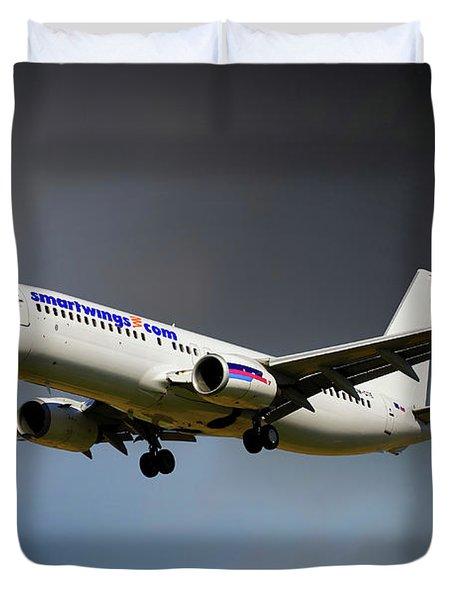 Smartwings Boeing 737-900er Duvet Cover