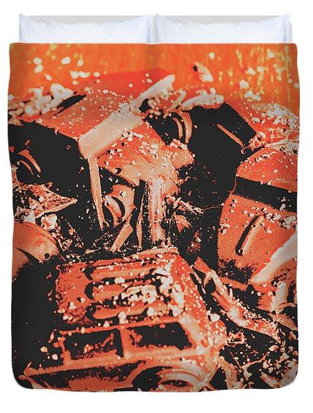 Smashem Crashem Cars Duvet Cover