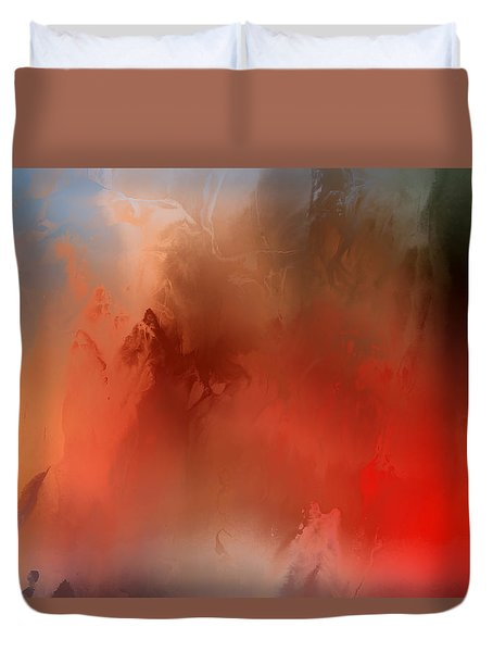 Wicked Worm Duvet Cover