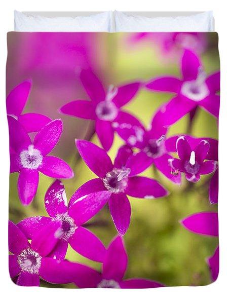 Smell Purple Duvet Cover