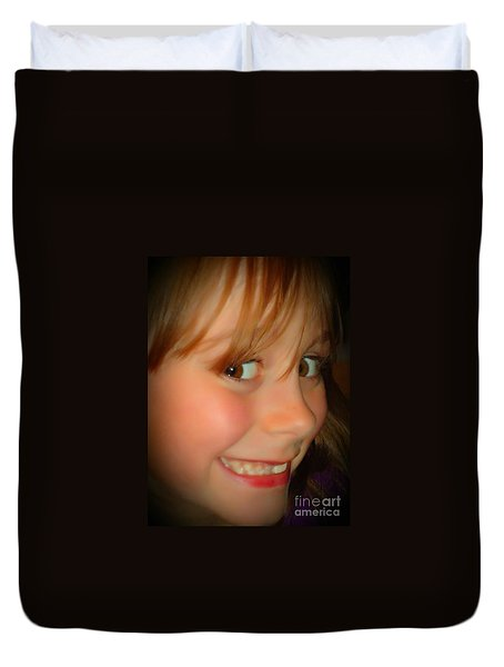 Smiles Duvet Cover