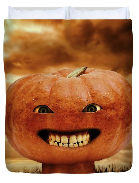 Smiling Jack Duvet Cover