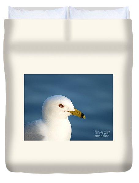 Smiling Seagull Duvet Cover