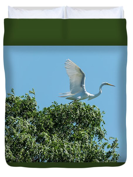 Duvet Cover featuring the photograph Smith Creek by Steven Richman