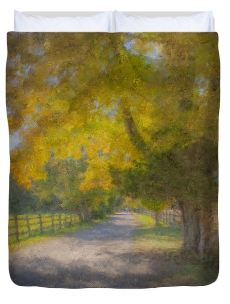 Smith Farm October Glory Duvet Cover