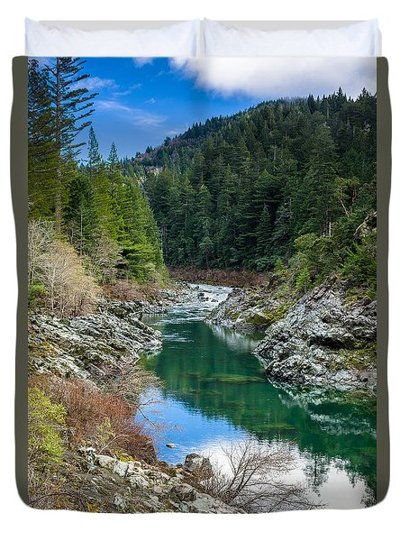 Smith River Tranquility Duvet Cover