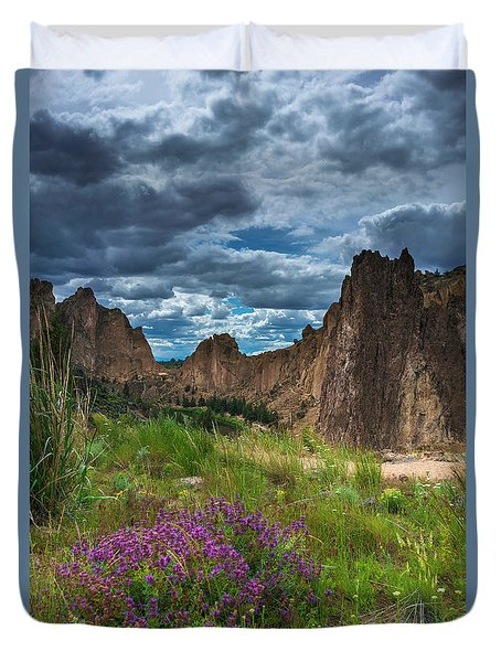 Smith Rock Duvet Cover