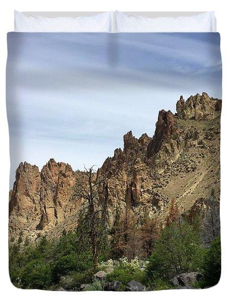 Smith Rocks Duvet Cover