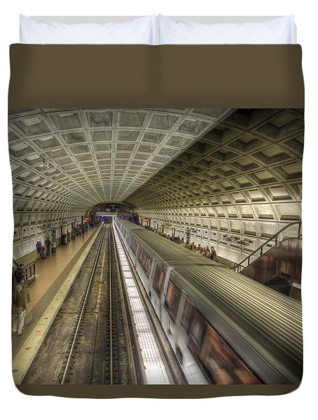 Smithsonian Metro Station Duvet Cover