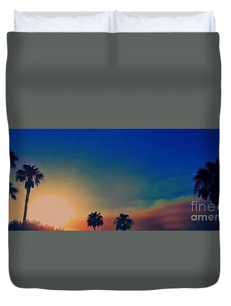 Smoke And Ashes Duvet Cover