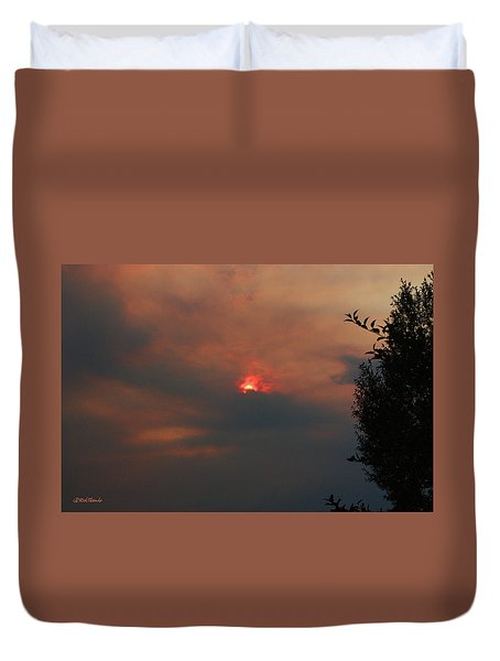 Smoke And Heat Duvet Cover