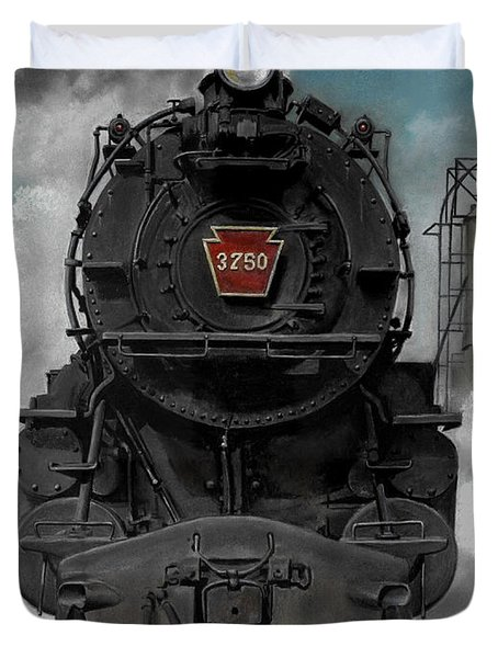 Smoke And Steam Duvet Cover