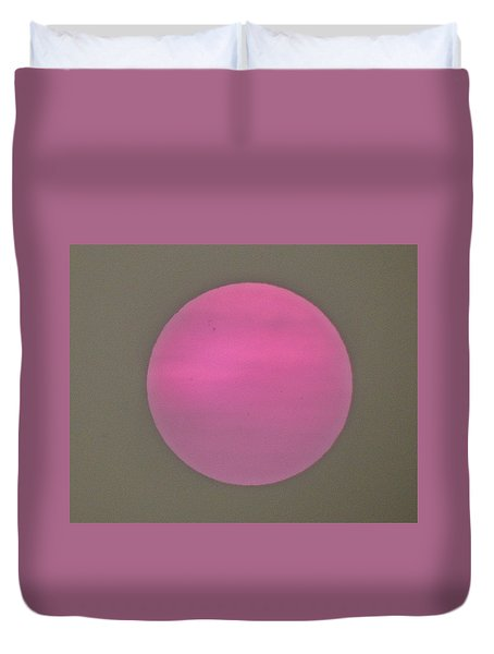Smoke And Sun Duvet Cover