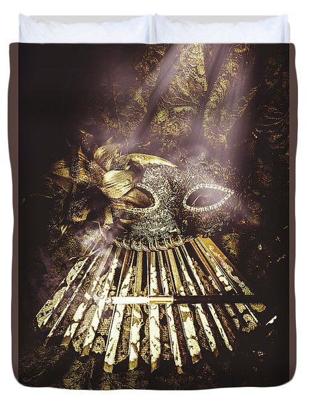 Smoke And Theatres Duvet Cover