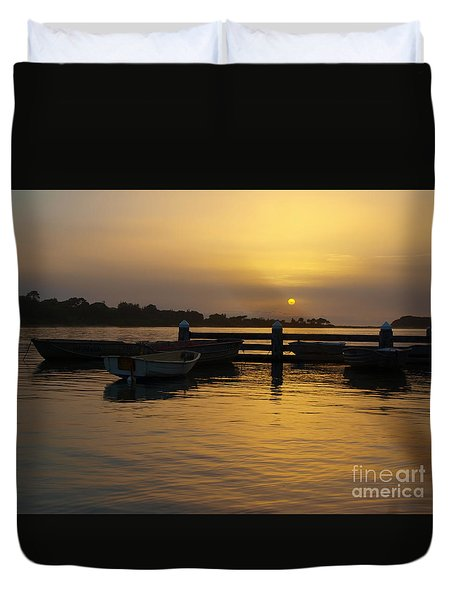 Smoke In The Sky Duvet Cover