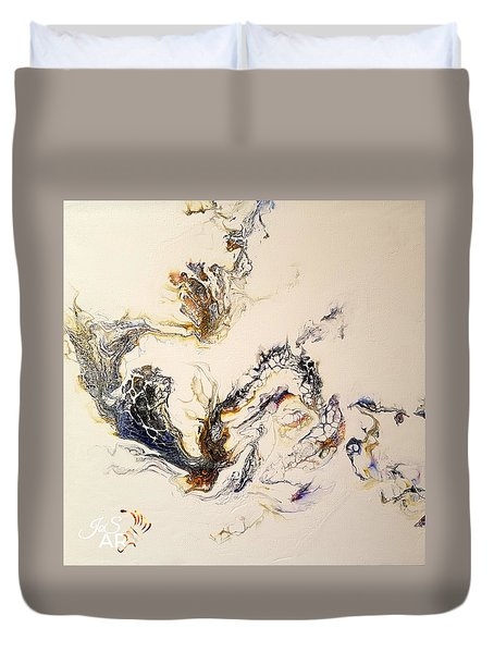 Smoke Duvet Cover