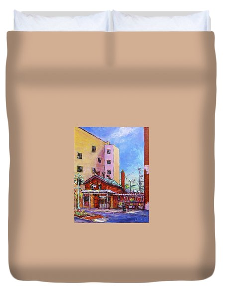 Smoke Shack Duvet Cover