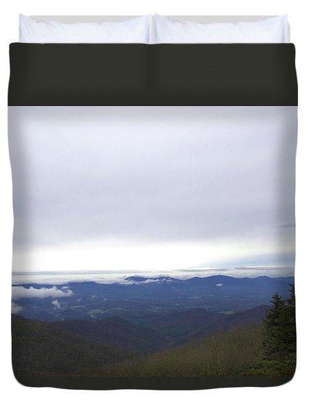 Smokey Mountains 2 Duvet Cover
