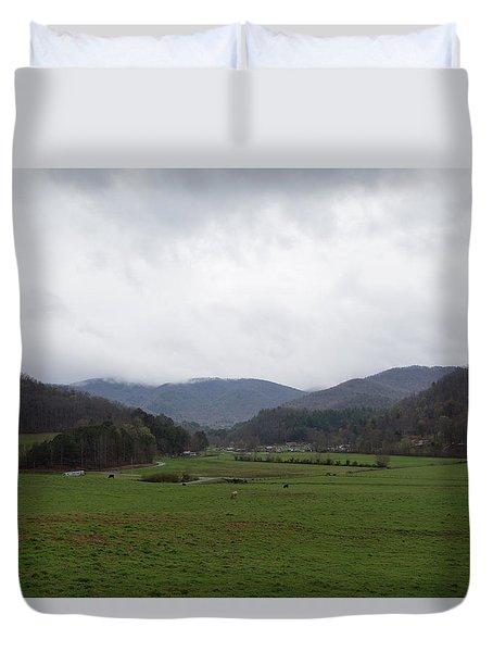 Smokey Mountains 3 Duvet Cover