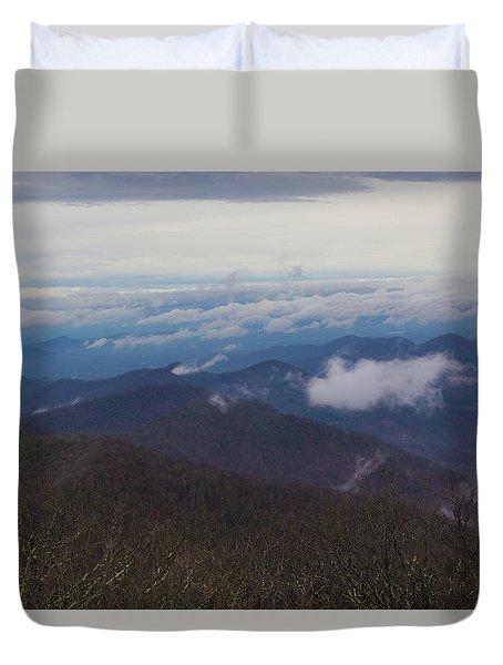 Smokey Mountains 5 Duvet Cover