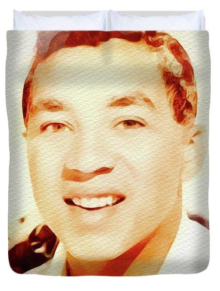 Smokey Robinson, Music Legend Duvet Cover